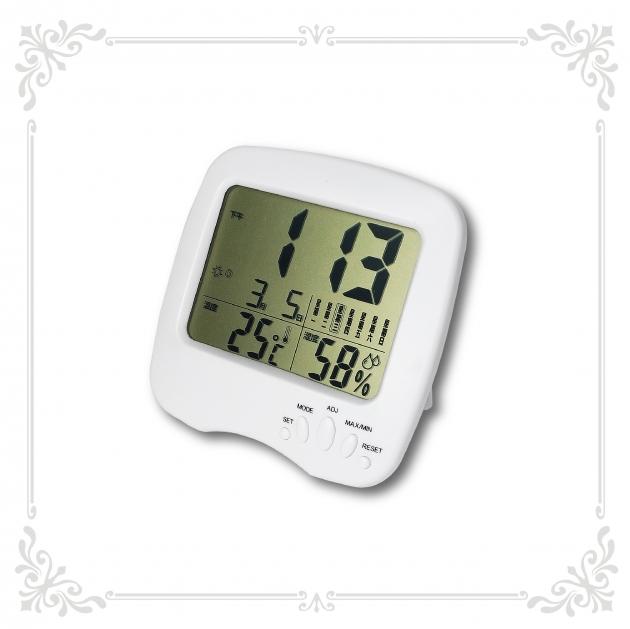 多功能溫溼度時鐘 2