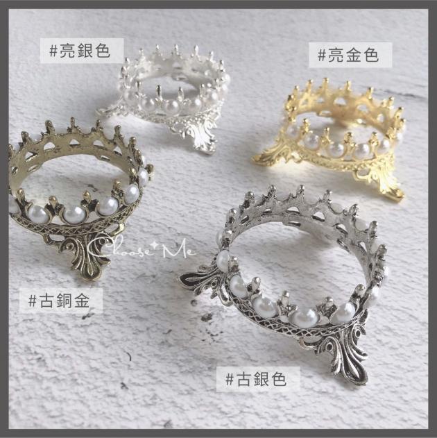 高質感復古珍珠皇冠筆架 2